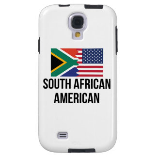 South African American Flag Galaxy S4 Case