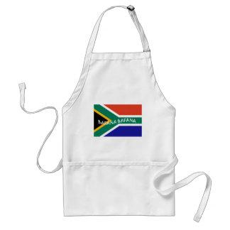 SOUTH AFRICAN BAFANA FLAG APRON