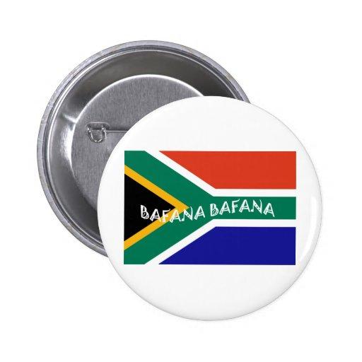 SOUTH AFRICAN BAFANA FLAG PIN
