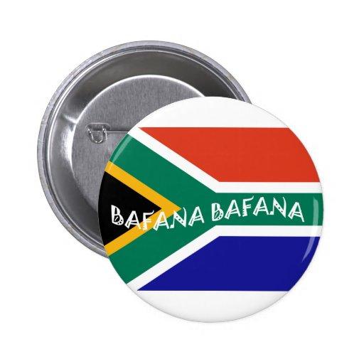 SOUTH AFRICAN BAFANA FLAG BUTTON