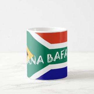 SOUTH AFRICAN BAFANA FLAG COFFEE MUG