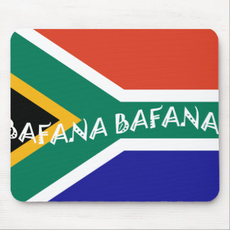 SOUTH AFRICAN BAFANA FLAG MOUSE PAD