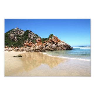 South African Beach Photo Print