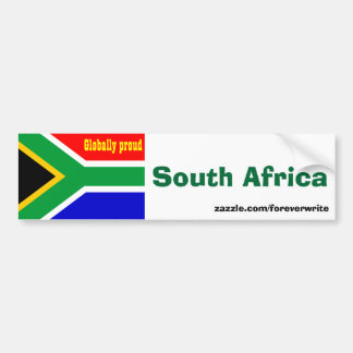 South African Bumper Stickers