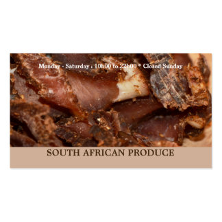 South African business | personalize Double-Sided Standard Business Cards (Pack Of 100)
