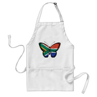 South African Butterfly Flag Apron