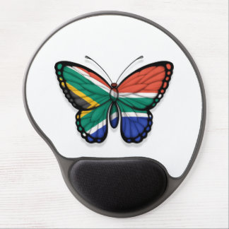 South African Butterfly Flag Gel Mousepads