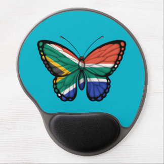 South African Butterfly Flag Gel Mouse Pad
