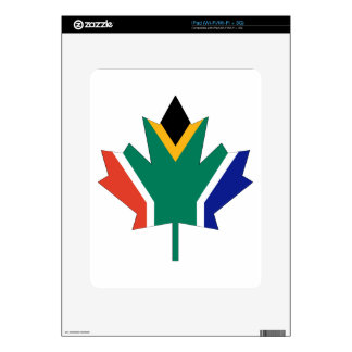 South African Canadian iPad Decal