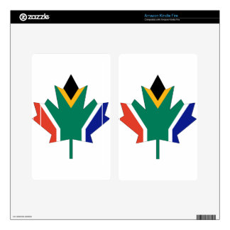 South African Canadian Kindle Fire Skin