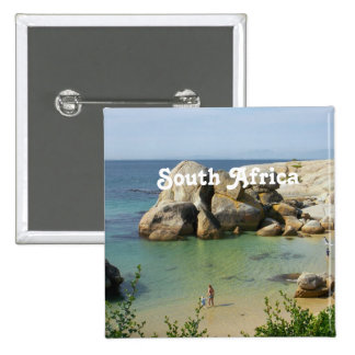 South African Coast Pinback Buttons
