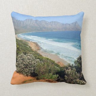 South African Coast Throw Pillow