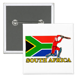 South African Cricket Player Buttons