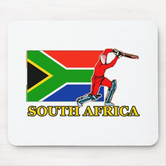 South African Cricket Player Mouse Pad