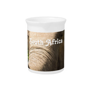 South African Elephant Drink Pitchers