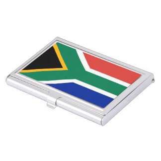 South African Flag Business Card Holder