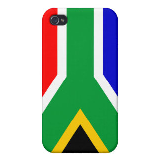 South African Flag Cover For iPhone 4