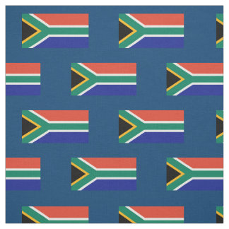 South African Flag Fabric