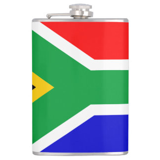 South African Flag Flask