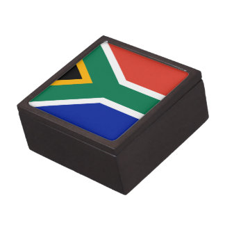 South African flag gift box