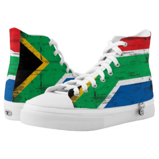 South African flag High-Top Sneakers