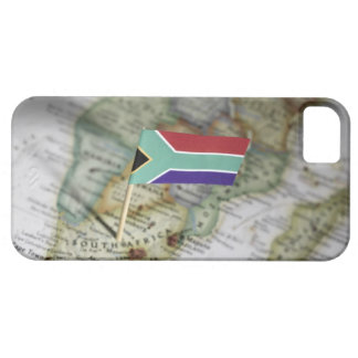 South African flag in map iPhone SE/5/5s Case
