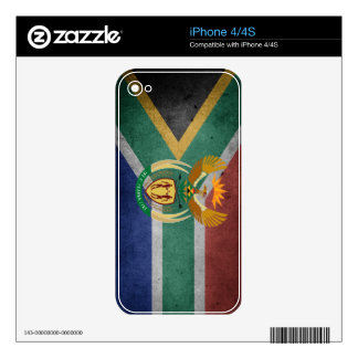 South African flag iPhone 4S Decals