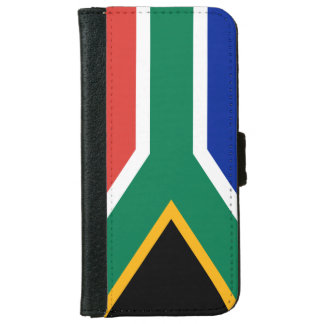 """""""SOUTH AFRICAN FLAG"""" iPhone 6/6S WALLET CASE"""
