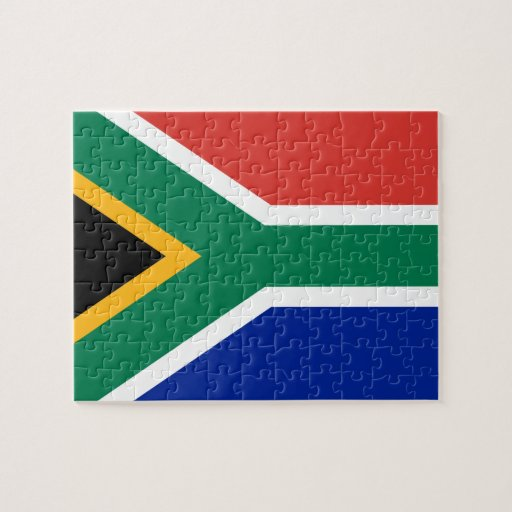 South African Flag Jigsaw Puzzles