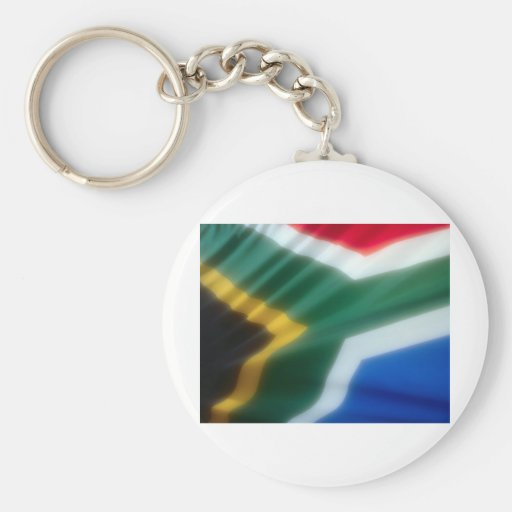 South African Flag Keychains