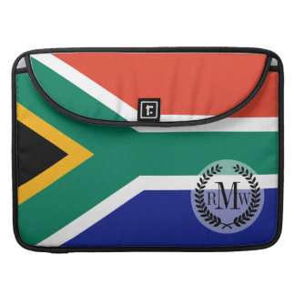 South African Flag MacBook Pro Sleeves
