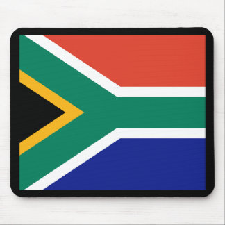 South African Flag Mouse Pads
