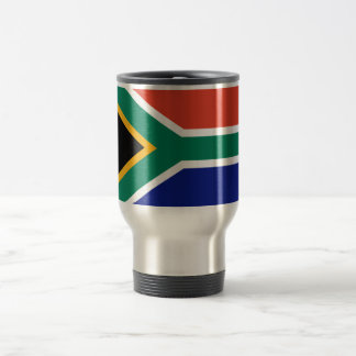 South African Flag 15 Oz Stainless Steel Travel Mug