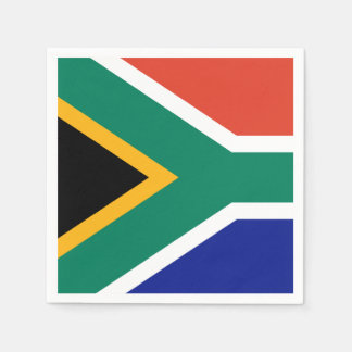 South African Flag Napkin