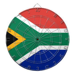 South African Flag of South Africa Dart Board