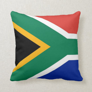 South African Flag on American MoJo Pillow
