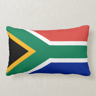 South African flag pillow
