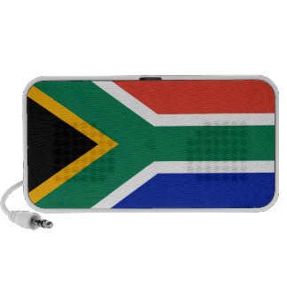 South African Flag Portable Speaker