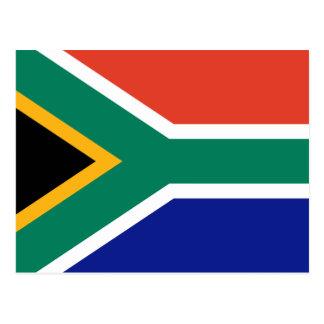 South African Flag Postcard