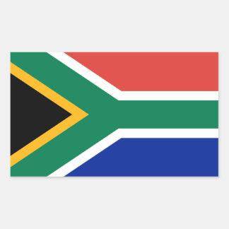 South African Flag Rectangular Sticker