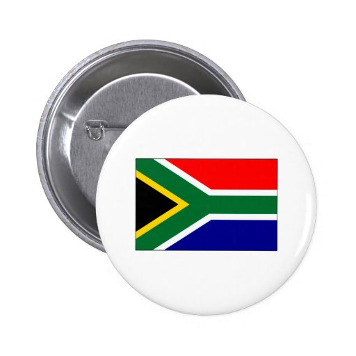 South African Flag T-shirts and Gifts Buttons
