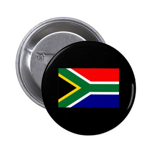 South African Flag T-shirts and Gifts Pin
