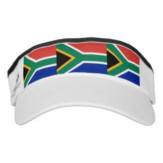 South African flag Visor