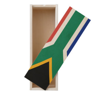South African Flag Wooden Keepsake Box