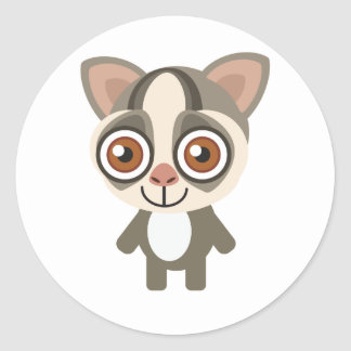 South African Galago - My Conservation Park Classic Round Sticker