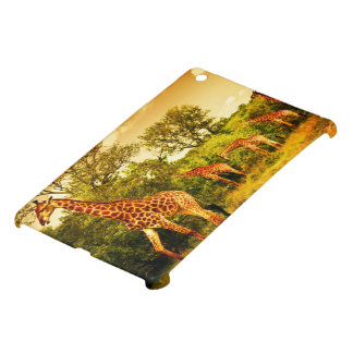 South African giraffes Cover For The iPad Mini
