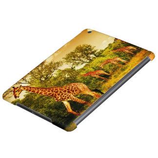 South African giraffes iPad Air Cases