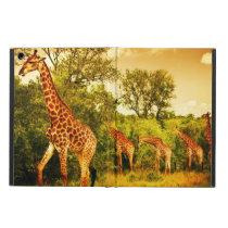 South African giraffes iPad Air Cover