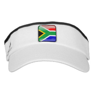 South African glossy flag Visor