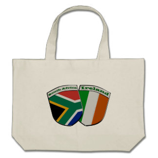 South African & Irish Flag Friendship Badges Bag